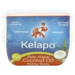 [Kelapo] Coconut Oil Extra Virgin Sticks, Fair Trade  At least 95% Organic