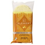 [Element] Rice Cakes Sweet Vanilla/Orange 6CT