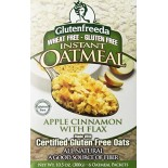[Glutenfreeda Foods] Instant Oatmeal Apple Cinnamon, 6 CT