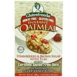 [Glutenfreeda Foods] Instant Oatmeal Strawberry & Brown Sugar, 6 Ct