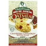 [Glutenfreeda Foods] Instant Oatmeal Cranberry Cinnamon, 6 Ct