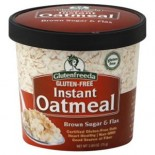 [Glutenfreeda Foods] Instant Oatmeal Cups Brown Sugar & Flax