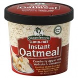 [Glutenfreeda Foods] Instant Oatmeal Cups Cranberry Apple w/Walnut Cinn