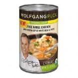 [Wolfgang Puck] Gluten Free Organic Soups FR Chicken W/White Bean & Pesto  At least 95% Organic