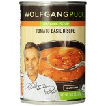 [Wolfgang Puck] Natural Soup & Meal Cups Tomato Basil Bisque  At least 95% Organic