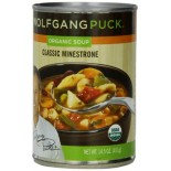 [Wolfgang Puck] Soups and Broths Minestrone, Classic  At least 95% Organic