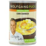 [Wolfgang Puck] Soups and Broths Corn Chowder  At least 95% Organic