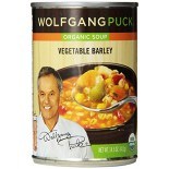 [Wolfgang Puck] Soups and Broths Vegetable Barley  At least 95% Organic