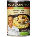 [Wolfgang Puck] Gluten Free Organic Soups Chicken w/Wild Rice  At least 95% Organic