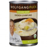 [Wolfgang Puck] Soups and Broths Chicken & Dumplings  At least 95% Organic