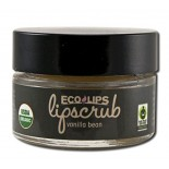 [Eco Lips] Lip Scrubs Vanilla Bean  At least 95% Organic