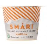 [Smari Organics] Organic Icelandic Yogurt Vanilla, NF  At least 95% Organic