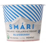 [Smari Organics] Organic Icelandic Yogurt Blueberry  At least 95% Organic