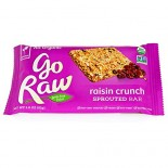[Go Raw] Bars Raisin Crunch Sprouted  At least 95% Organic