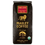 [Marley Coffee] Coffee-Bags-Ground One Love, Ethpia Yirgchfe Med Rst  100% Organic