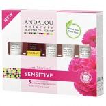 [Andalou Naturals] 1000 Roses Kit, Soothing