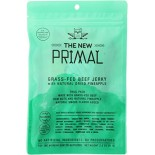 [New Primal] Beef Jerky Trail Pks w/Dried Pineapple, GF