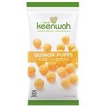 [I Heart Keenwah] Quinoa Puffs Aged Cheddar