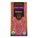 [Artisana] Cacao Criollo Bars Dark Chocolate 75%  At least 95% Organic