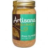 [Artisana] Nut Butters Almond, Raw  At least 95% Organic