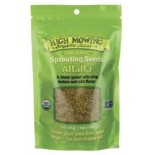 [High Mowing] Sprouting Seeds Alfalfa  At least 95% Organic