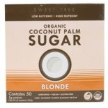 [Big Tree Farms] Coconut Palm Sugar Blonde, 50 pkts  At least 95% Organic