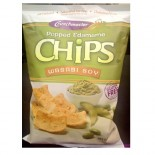 [Crunchmaster] Popped Edamame Chips Wasabi Soy