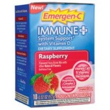 [Emergen C] Immune + System Support w/ Vitamin D Raspberry