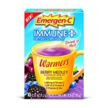 [Emergen C] Immune + System Support w/ Vitamin D Warmers, Berry Medley