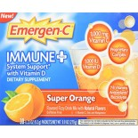 [Emergen C] Immune + System Support w/ Vitamin D Orange