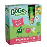 [Gogo Squeez] Apple Sauce-On The Go Apple Peach