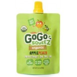 [Gogo Squeez] Pouches Apple Peach  100% Organic