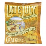 [Late July] Crackers Cheddar Cheese, Bite Size Snack Pk  At least 95% Organic