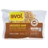 [Evol Foods] Breakfast Sandwich Uncured Ham, Egg & Cheddar