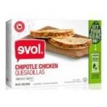 [Evol Foods] Quesadillas Chipotle Chicken + Guacamole