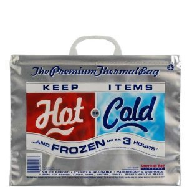 [American Bag Company] Hot/Cold Bags Small 15x12x6