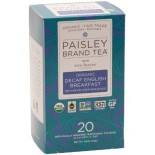 [Paisley Tea Co] Tea English Breakfast, Decaf  At least 95% Organic