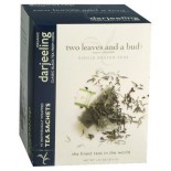 [Two Leaves And A Bud] Single Region Teas, Individually Wrapped Sachets Darjeeling, Black  At least 95% Organic