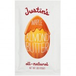 [Justin`S] Nut Butters - Individual Squeeze Packs Almond, Maple