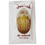 [Justin`S] Nut Butters - Individual Squeeze Packs Vanilla Almond Butter