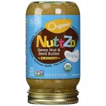 [Nuttzo] Nut Butters with Omega 3 Original, Crunchy  At least 95% Organic