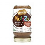 [Nuttzo] Nut Butters with Omega 3 Chocolate, Crunchy  At least 95% Organic
