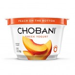 [Chobani] Greek Yogurt, Nonfat Peach, FOB