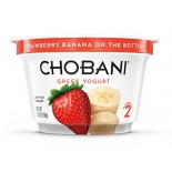 [Chobani] Greek Yogurt, Lowfat Strawberry Banana, FOB