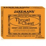 [Jakemans] Throat & Chest Lozenges Honey & Lemon