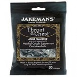 [Jakemans] Throat & Chest Lozenges Liquorice Menthol