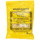 [Jakemans] Throat & Chest Lozenges Honey Lemon Menthol