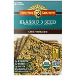 [Dr. Kracker] Crispbread Klassic 3 Seed  At least 95% Organic