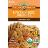 [Dr. Kracker] Crispbread Pumpkin Seed Cheddar  At least 95% Organic