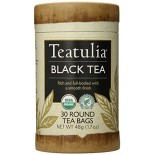 [Teatulia] ECO Canister Black Tea  At least 95% Organic